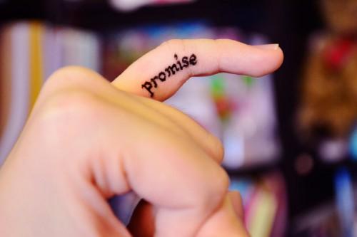 Держите обещания, данные самому себе