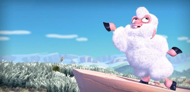 Кадр из мультфильма Boundin' студии Pixar